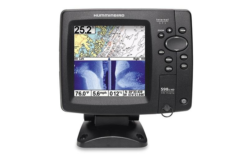 Humminbird 598cxi HD SI Plotter/Ekolod.