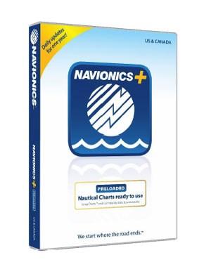 Navionics Preloaded Update 45XG CF