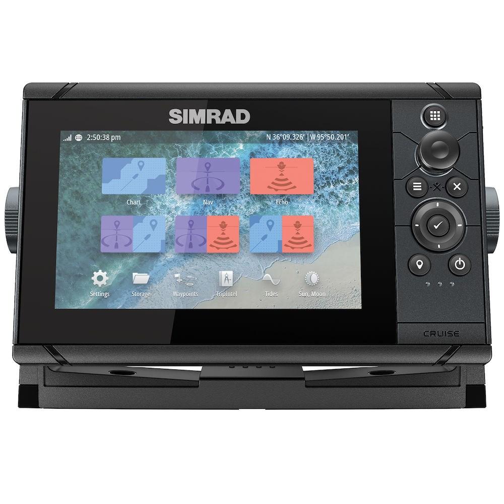 Simrad Cruise 7 inkl givare 83/200 XDCR