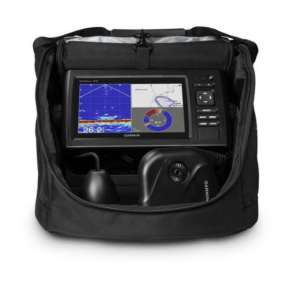 Garmin echoMAP CHIRP 72cv Panoptix PS22 Ice Bundle,med laddare
