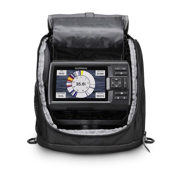 Garmin Striker Plus 5cv, Portable Fishing Kit w/GT8HW-IF