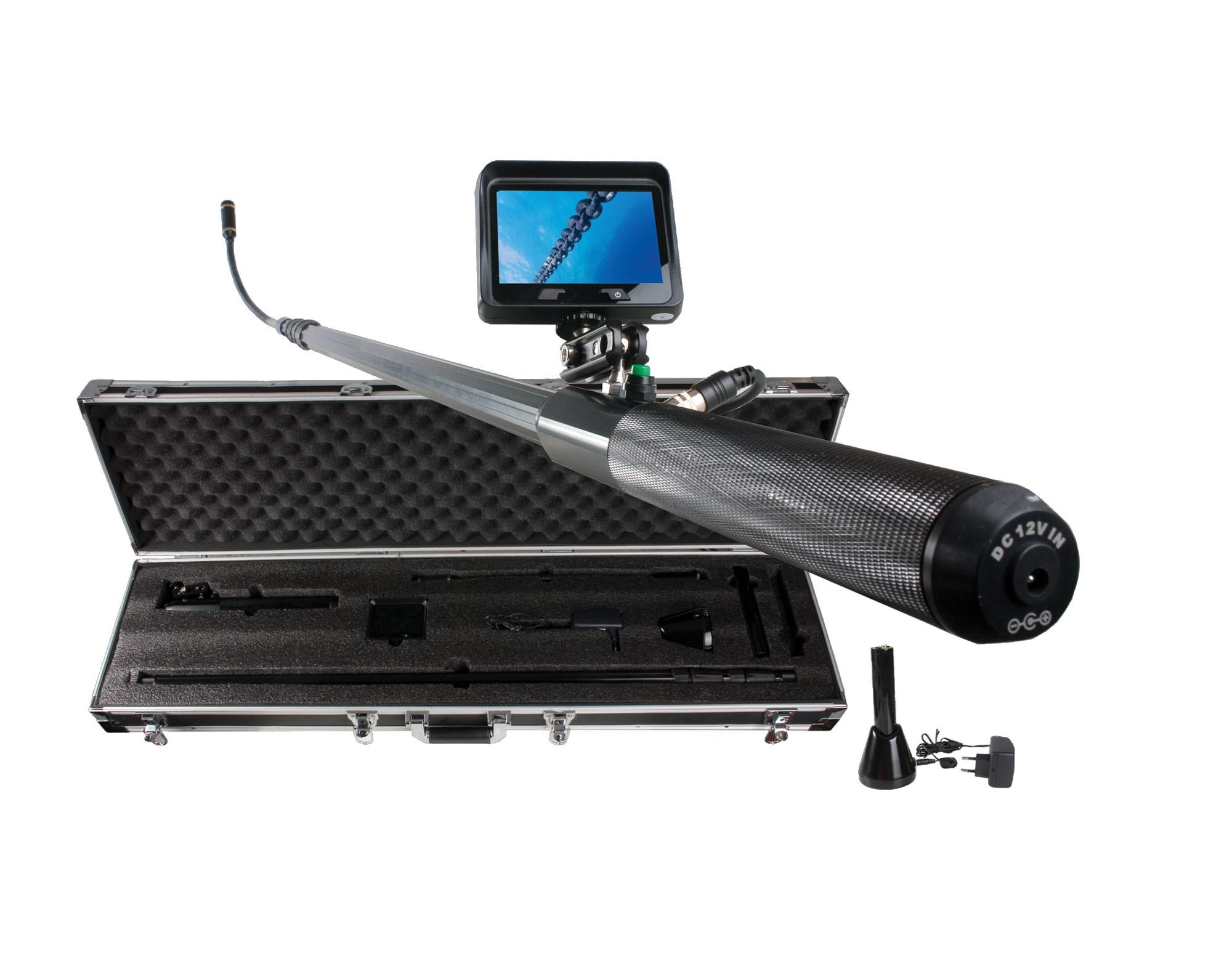 """Inspektionskamera med 3,5"""" bildskärm LTC"""