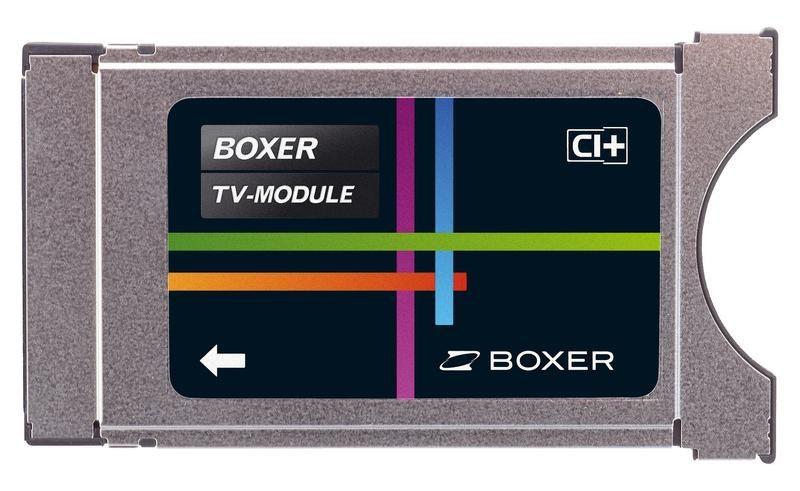 Boxer TV CA modul HD CI+