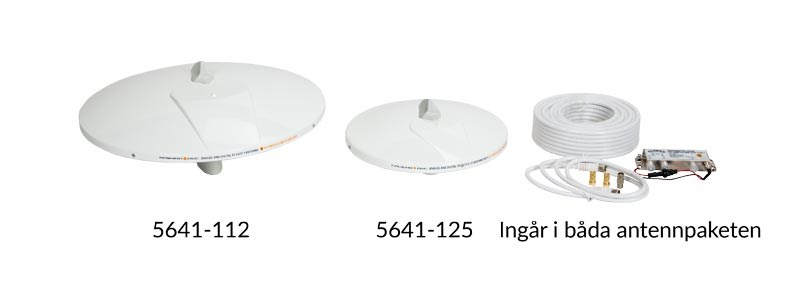 TV-antenn Glomex  Talitha 250mm