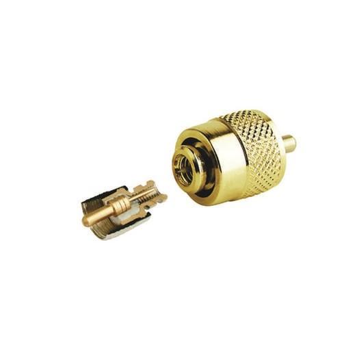 Glomex PL259 RG58 Gold Lödfri