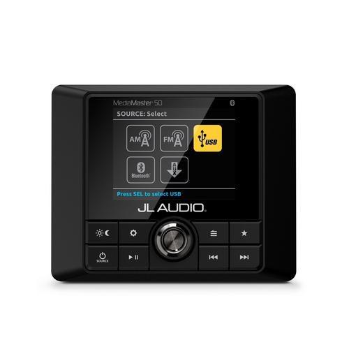 JL Audio Huvudenhet Mm50 4x25w