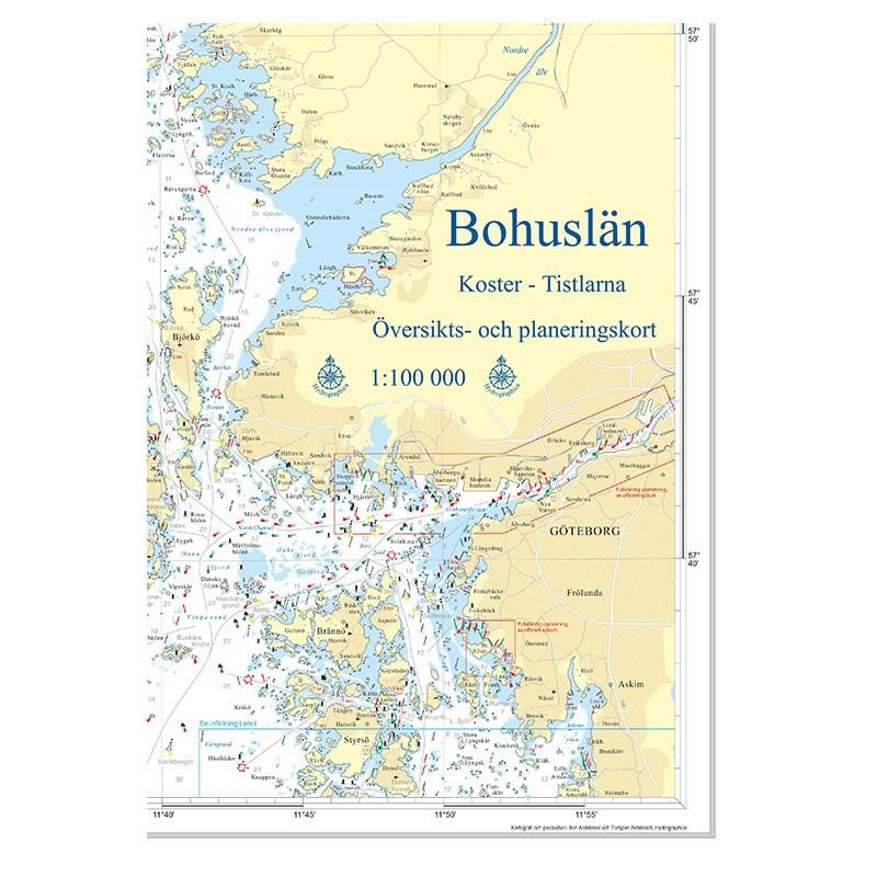 Hydrographica Översiktskort Bohuslän