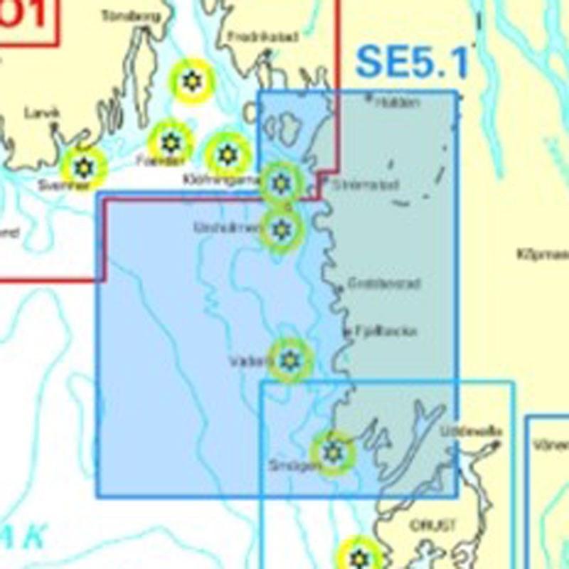NV. Atlas Sverige SE 5.1 - Svenska Västkusten Norra