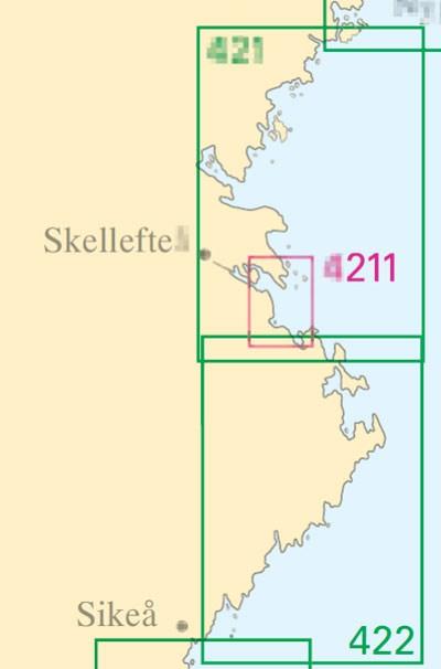Sjökort nr 4211