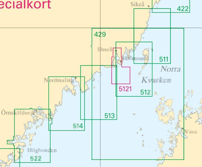 Sjökort nr 5121