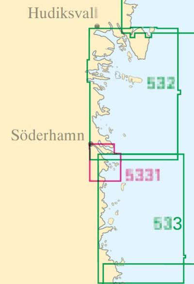 Sjökort nr 533