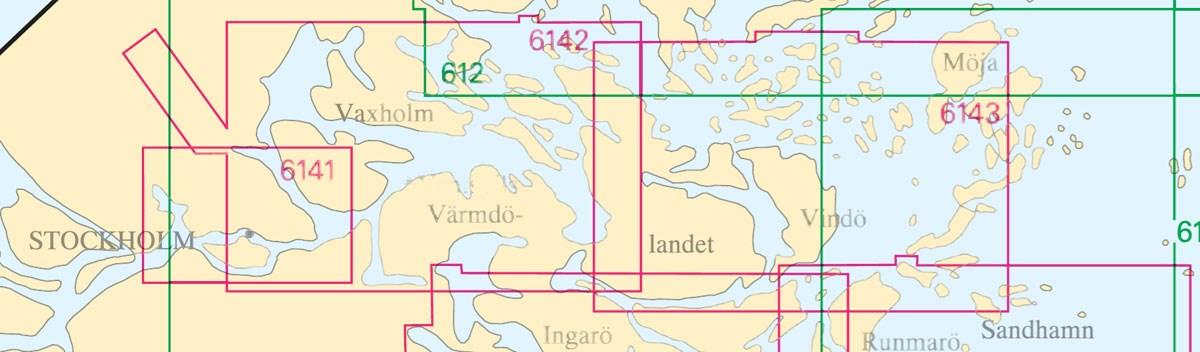 Sjökort nr 6142