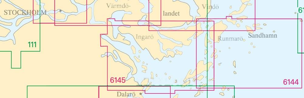 Sjökort nr 6145
