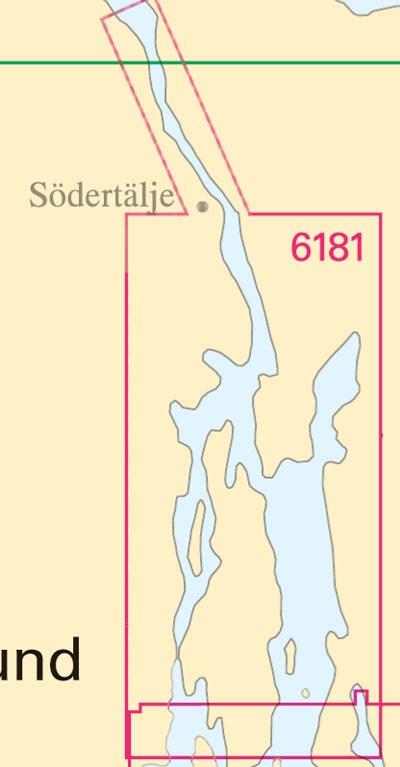 Sjökort nr 6181