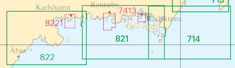 Sjökort nr 714