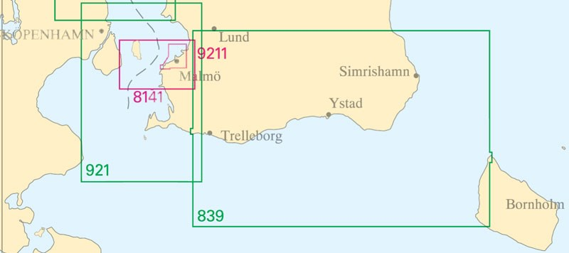 Sjökort nr 8141