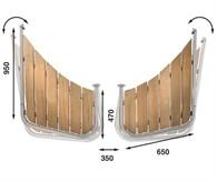 Båtsystem Badplattform snipa PS65/1407