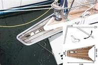 Båtsystem gennakerpeke med ankarrulle GPAT100/500000