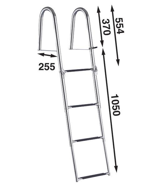 Båtsystem Badstege 4-steg BUT47/2051