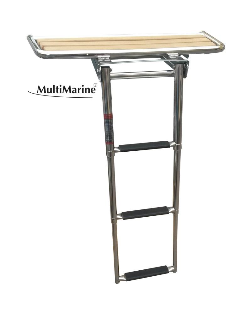 Multimarine badplattform+stege 840x380mm