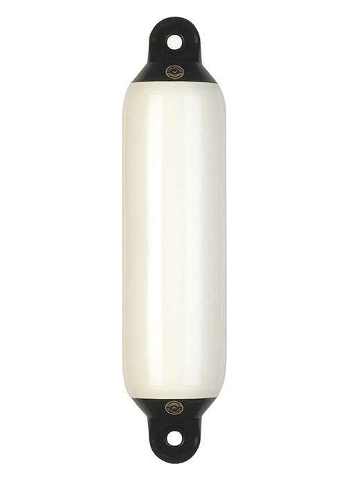 Fender 5x20 tum vit med svart topp