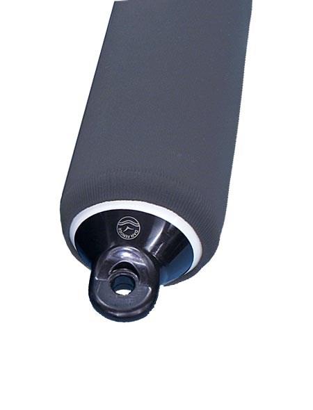 Fenderskydd grå 8x27 tum