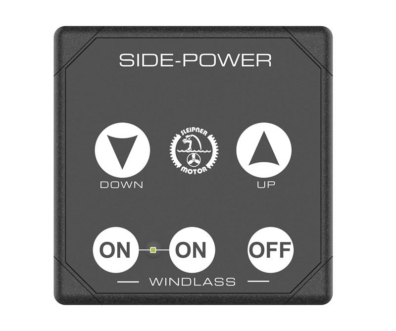 Kontrollpanel Side-Power för ankarspel