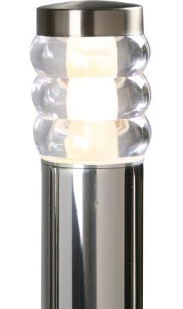 Belysning för vindskyddsstolpe LED