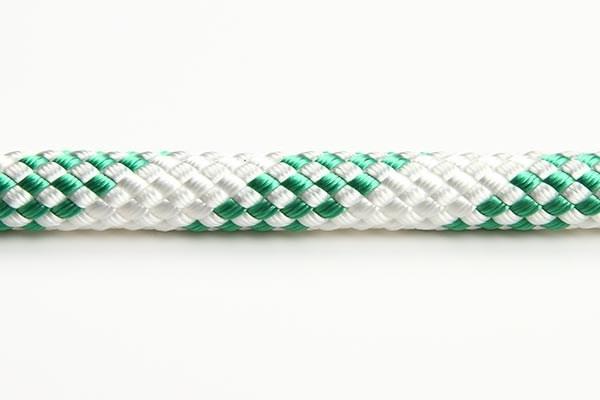 Sirius 300 6mm vit/grön 32-flätad, /m