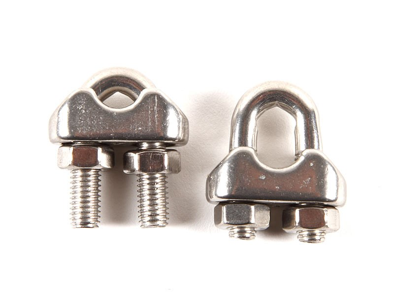 Wirelås U-form 3-4mm FP=2st