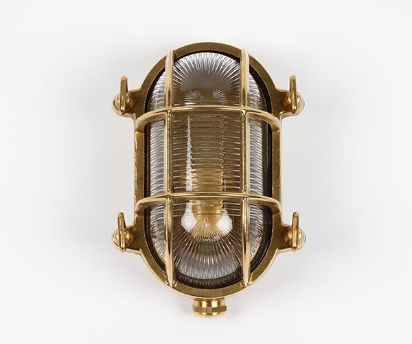 Gallerlampa oval 13x17cm