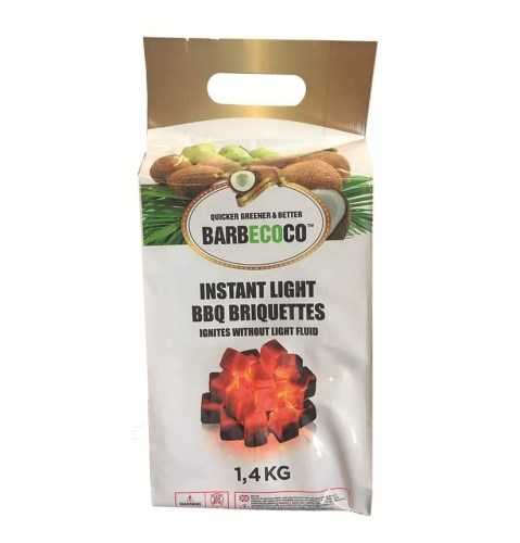 BarbEcoCo Briketter 1,4kg