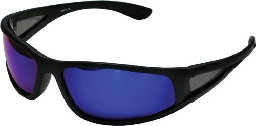 Solglasögon Svarta, UV400, Blått glas