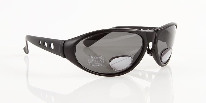 Solglasögon med lins, +2,0