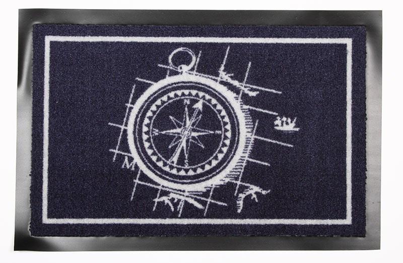 Dörrmatta Marin Kompass
