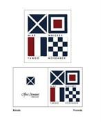Gåvokort Signalflaggor