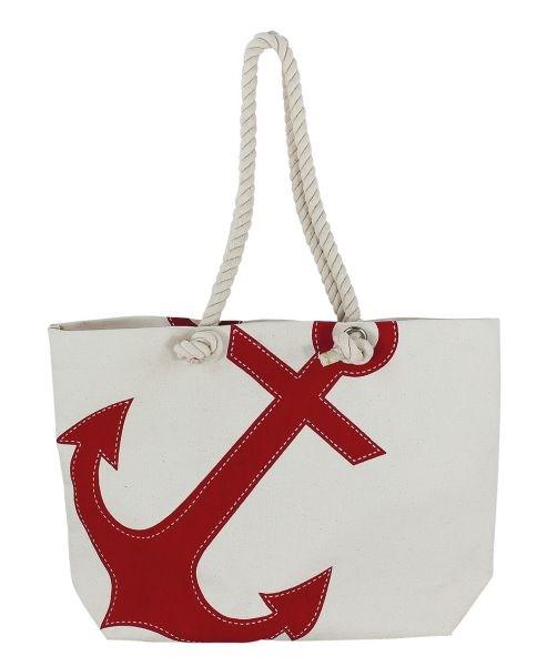 Shopping-bag Röd