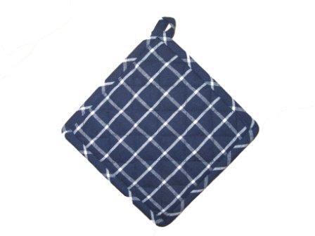 Grytlapp Recycling Blå/Vit 2-pack