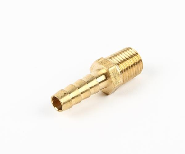 Slangnippel 1/4 tum NPT - 8mm