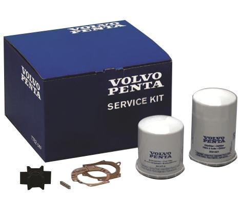 Servicesats för dieselmotorer D2-55/75 Volvo Penta Original