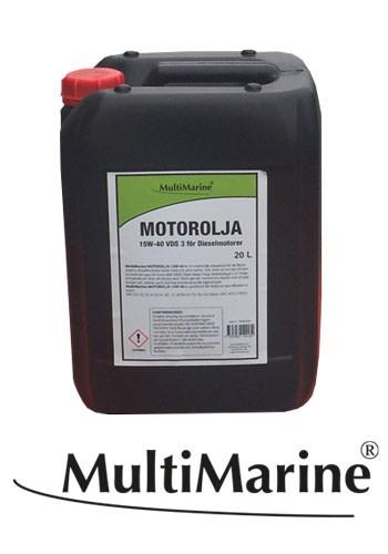 Motorolja Multimarine VDS3 15W-40 20 liter
