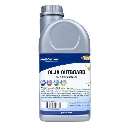 Olja Outboard 2t Tc-W3 1l