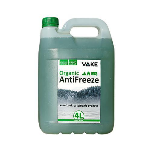 Vake färdigblandad antifrostvätska, miljövänlig, 4 l.