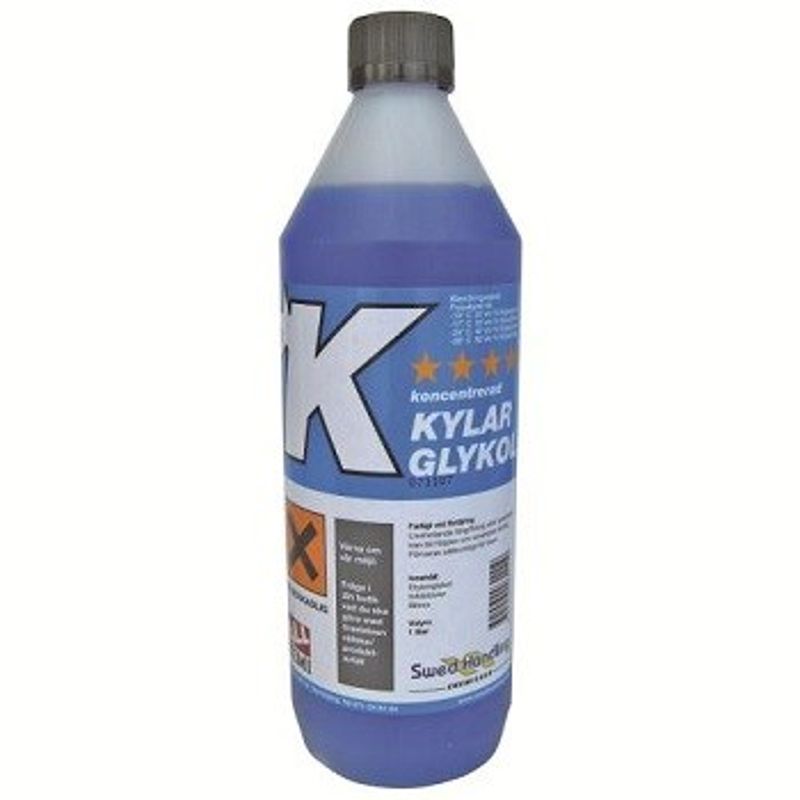 Etylenglykol blå m. korrosionsskydd 20 liter