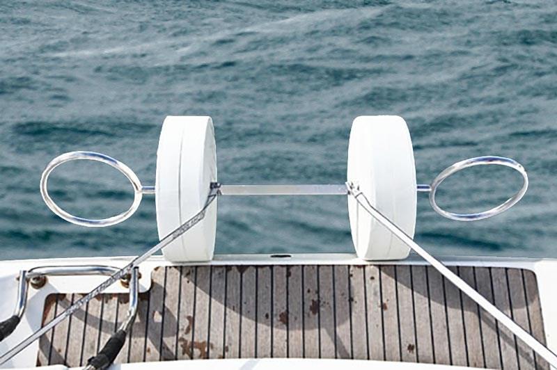 Dävert Dinghy Rings Flex, för gummibåt