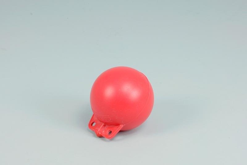 Garnblåsa, Hård, 5tum, Röd