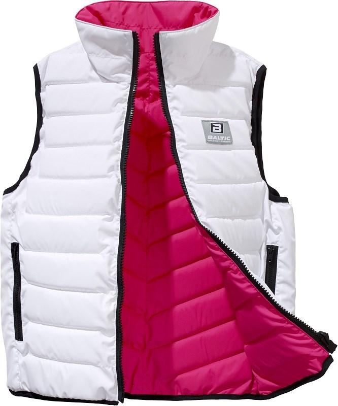 Baltic Flipper vit/rosa XS 50-60kg