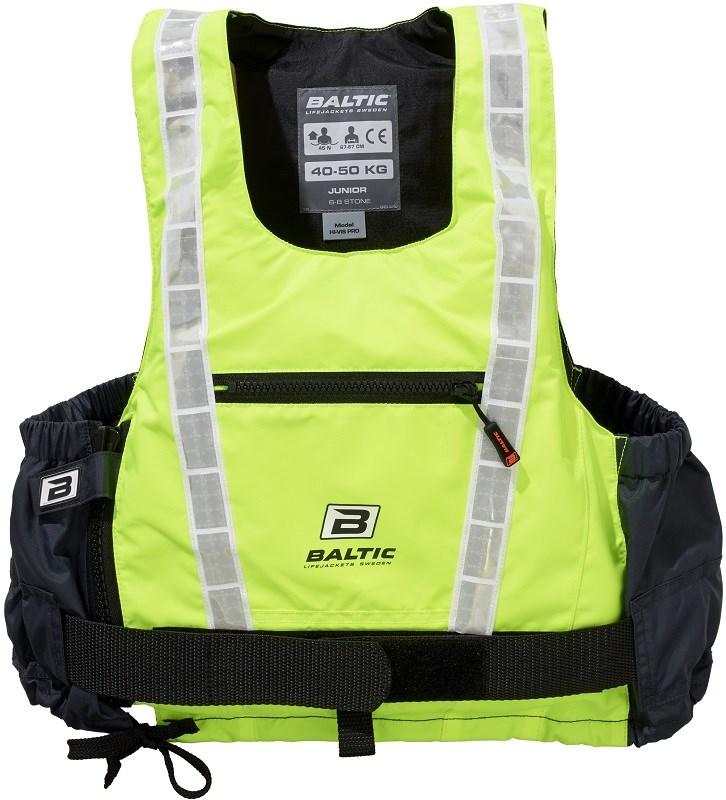 Baltic Hi-vis Pro UV-gul/grå S 40-50kg