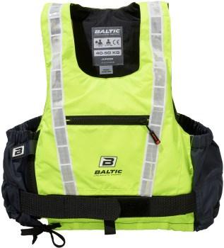 Baltic Hi-vis Pro UV-gul/grå XL 90+kg
