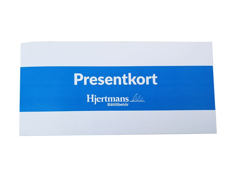 Presentkort Webshop 100 SEK